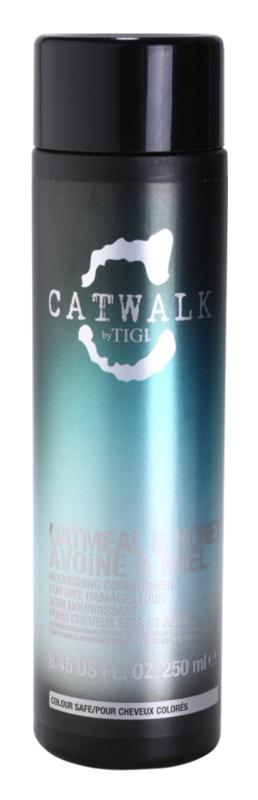 TIGI Catwalk Oatmeal & Honey Voedende Conditioner  voor Droog en Beschadigd Haar