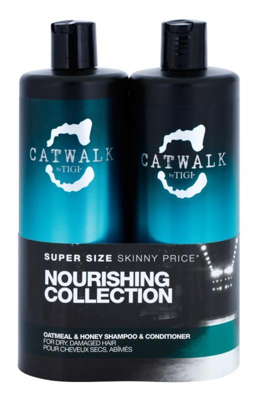 TIGI Catwalk Oatmeal & Honey coffret I.