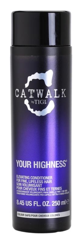 TIGI Catwalk Your Highness kondicionáló dús hatásért