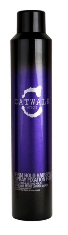 TIGI Catwalk Your Highness silný lak na vlasy pre dlhotrvajúce spevnenie