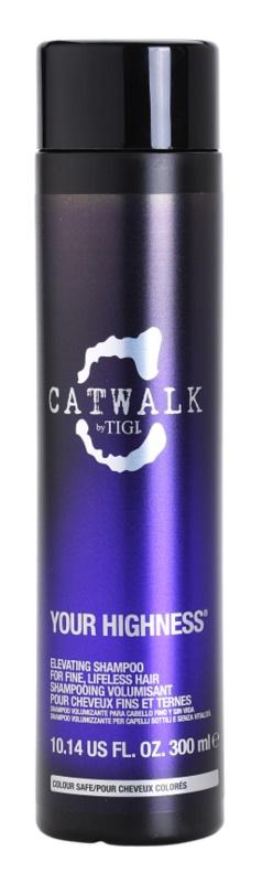 TIGI Catwalk Your Highness champú para dar volumen