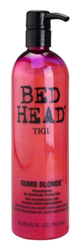 TIGI Bed Head Dumb Blonde kondicionér pre chemicky ošterené vlasy