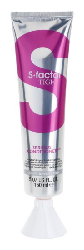 TIGI S-Factor Serious après-shampoing rénovateur pour cheveux abîmés