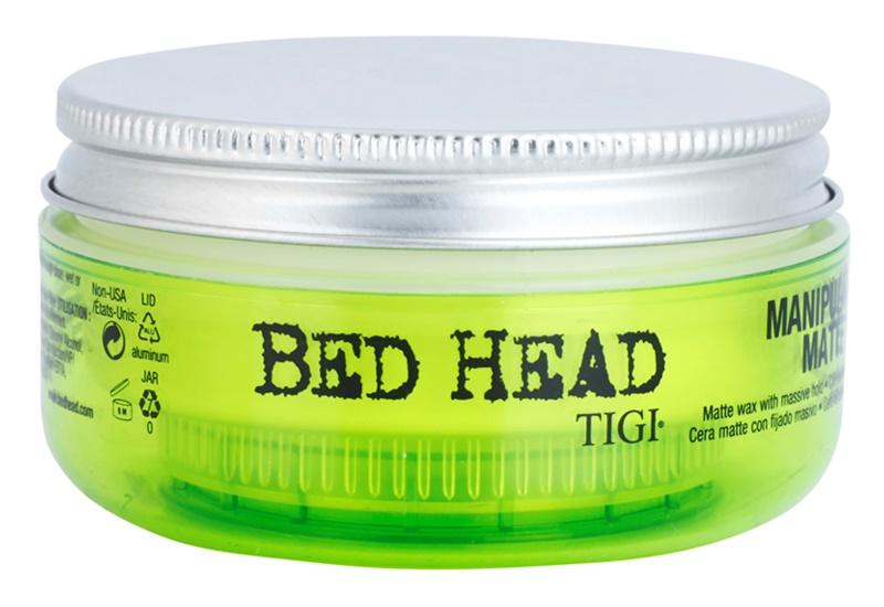 TIGI Bed Head Manipulator Matte cera matificante fixação extra forte