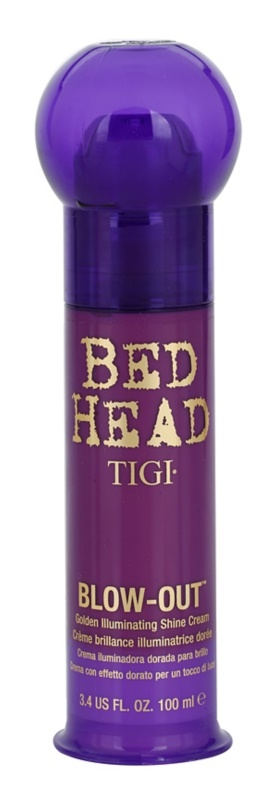 TIGI Bed Head Blow-Out zářivý zlatý krém pro uhlazení vlasů