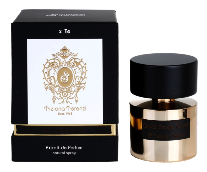 Tiziana Terenzi Gold Gold Rose Oudh extrait de parfum mixte 100 ml
