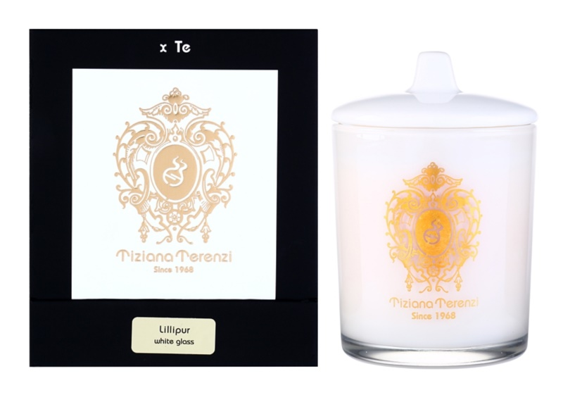 Tiziana Terenzi Lillipur  Scented Candle   mini with a Lid