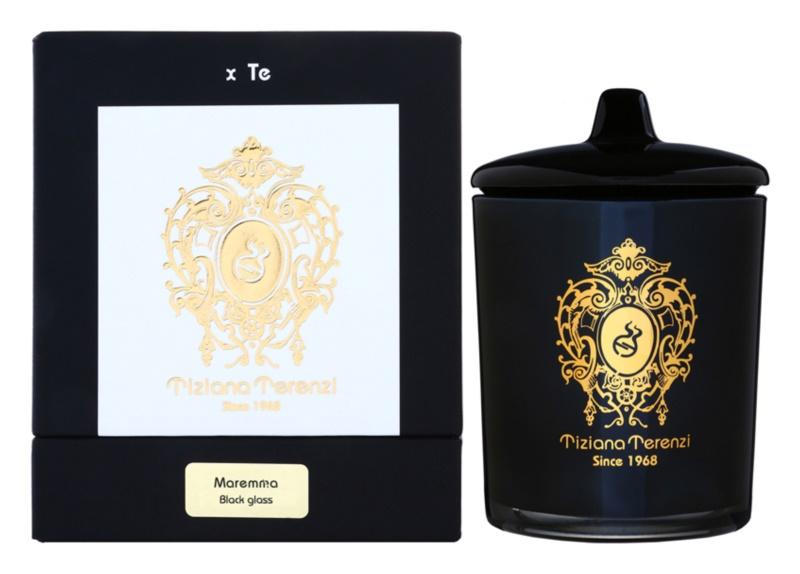 Tiziana Terenzi Black Maremma Mirisna svijeća   srednji sa zatvaračem