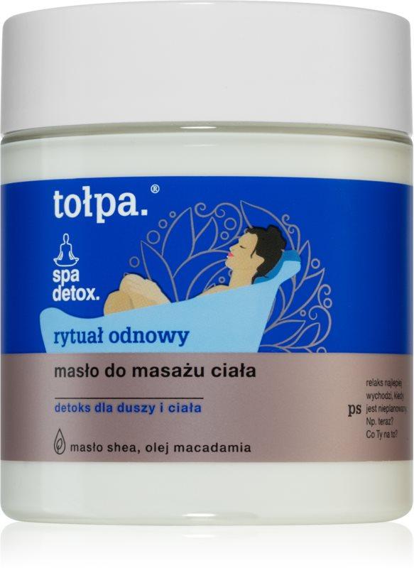Tołpa Spa Eco Relax telové maslo pre veľmi suchú pokožku