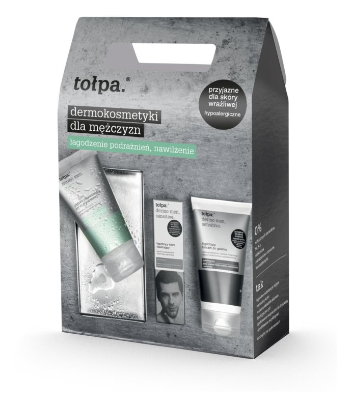 Tołpa Dermo Men Sensitive Cosmetic Set I. (for Sensitive Skin)