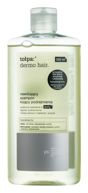 Tołpa Dermo Hair hydratačný šampón pre podráždenú pokožku hlavy