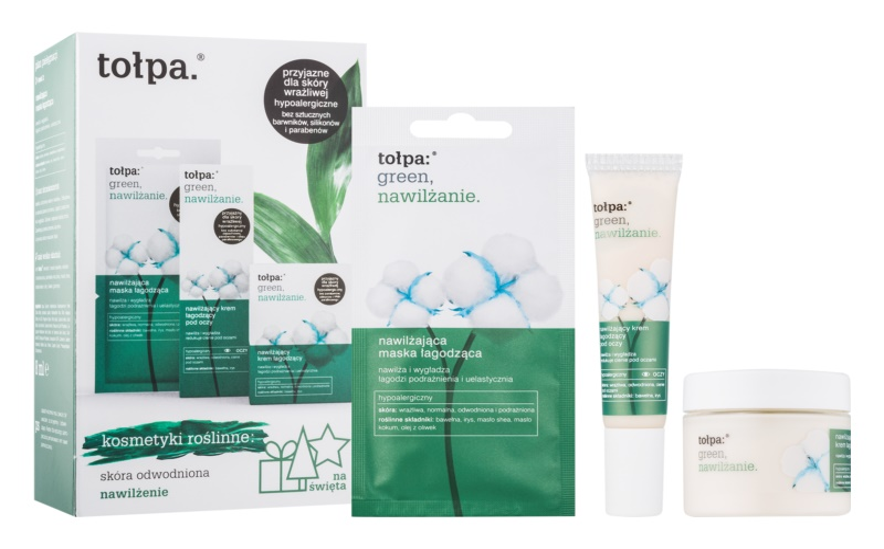 Tołpa Green Moisturizing Kosmetik-Set  I.