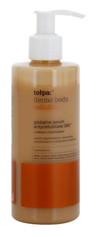 Tołpa Dermo Body Cellulite Global szérum ultrahang hatással  narancsbőrre