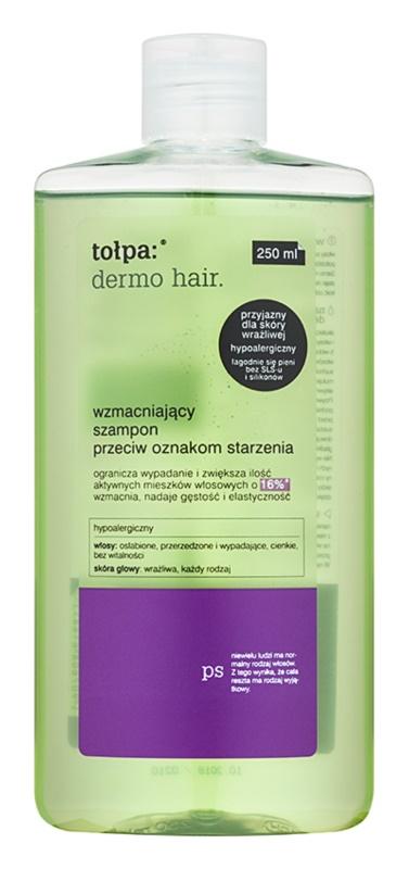 Tołpa Dermo Hair зміцнюючий шампунь проти ознак старіння