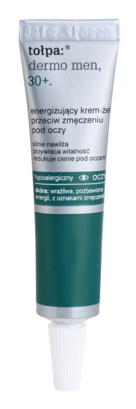 Tołpa Dermo Men 30+ gel creme energizante para o contorno dos olhos