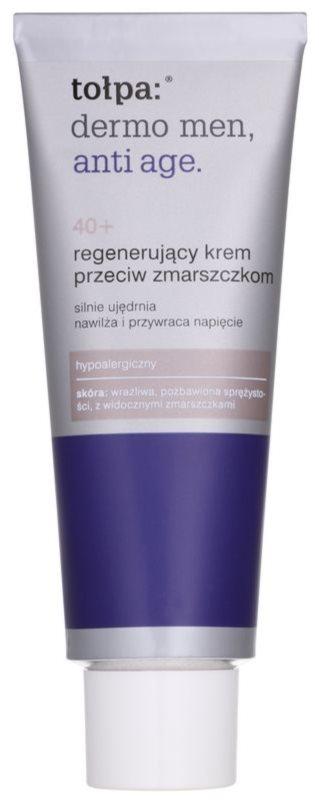 Tołpa Dermo Men 40+ crema regeneradora antiarrugas