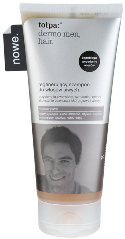 Tołpa Dermo Men Hair regenerační šampon pro šedivé vlasy