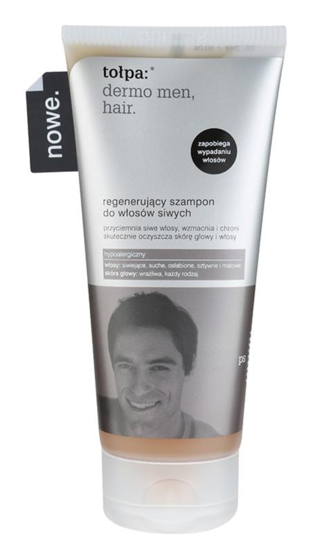 Tołpa Dermo Men Hair regeneračný šampón pre šedivé vlasy