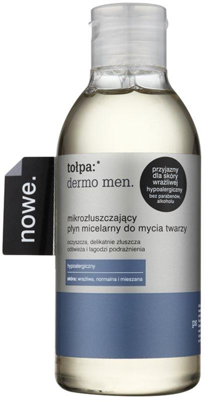 Tołpa Dermo Men agua micelar limpiadora