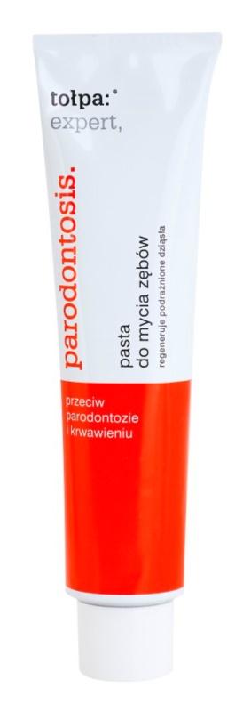 Tołpa Expert Parodontosis Toothpaste Against Gum Bleeding and Periodontal Disease