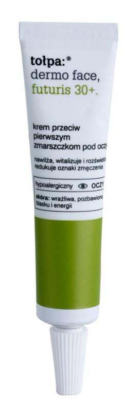 Tołpa Dermo Face Futuris 30+ crema para contorno de ojos para las primeras señales de envejecimiento de la piel