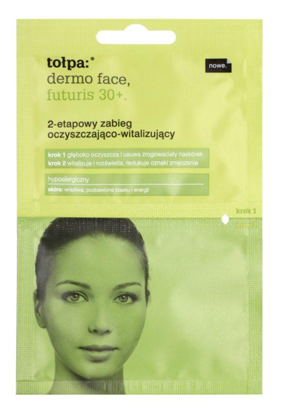 Tołpa Dermo Face Futuris 30+ čištění a revitalizace pleti ve dvou krocích