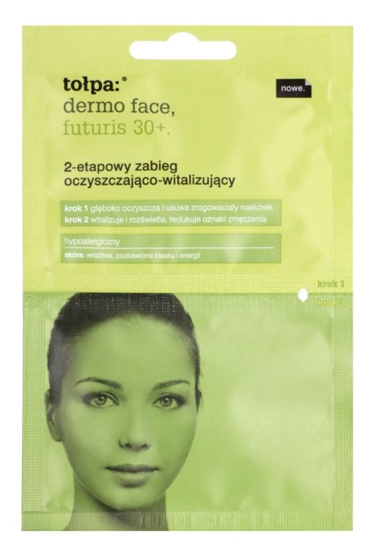 Tołpa Dermo Face Futuris 30+ Reinigung und Revitalisierung der Haut in zwei Schritten