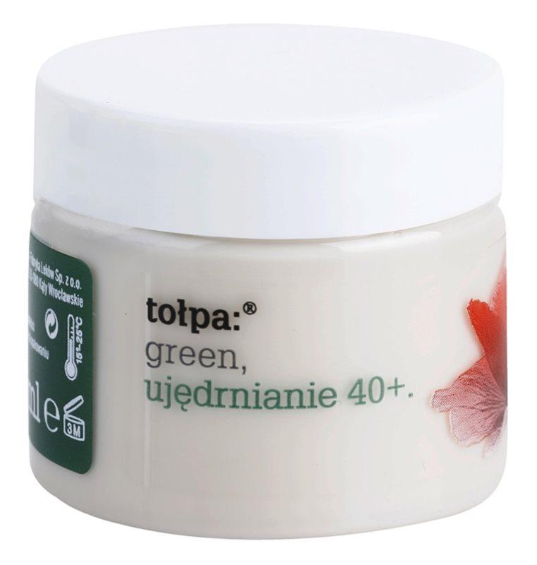 Tołpa Green Firming 40+ zpevňující noční krém s protivráskovým účinkem