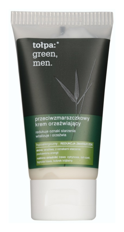 Tołpa Green Men Refreshing Cream with Anti-Wrinkle Effect