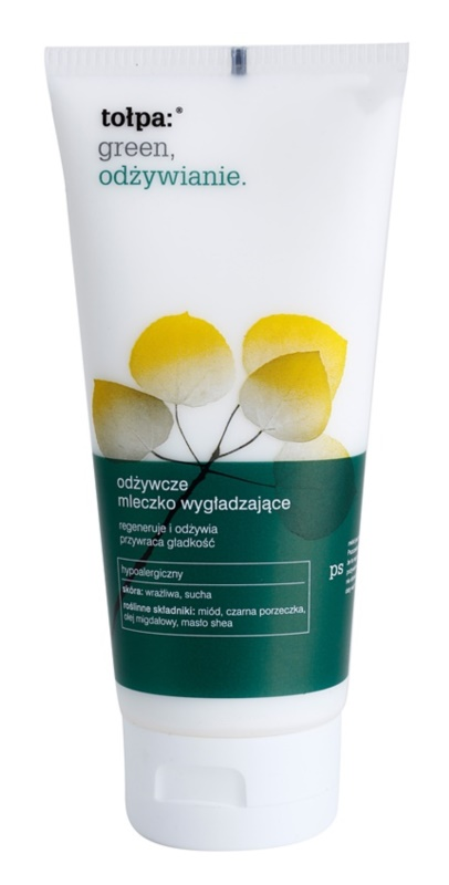 Tołpa Green Nutrition Smoothing Body Lotion with Regenerative Effect