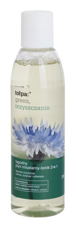 Tołpa Green Cleaning micelární voda a tonikum 2 v 1