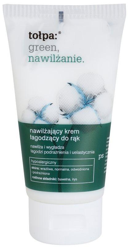 Tołpa Green Moisturizing Soothing Hand Cream With Moisturizing Effect