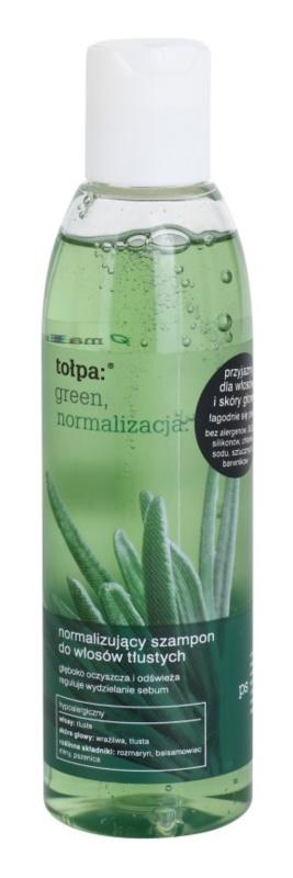 Tołpa Green Normalizing sampon zsíros hajra és fejbőrre