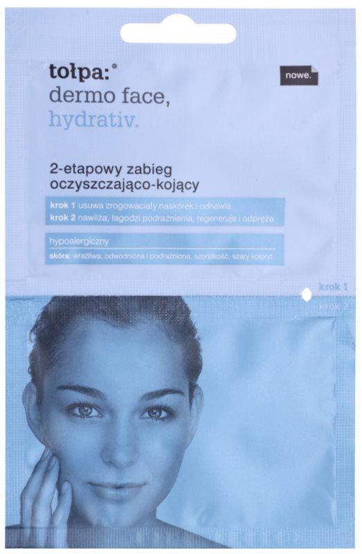 Tołpa Dermo Face Hydrativ čištění a zklidnění pleti ve dvou krocích