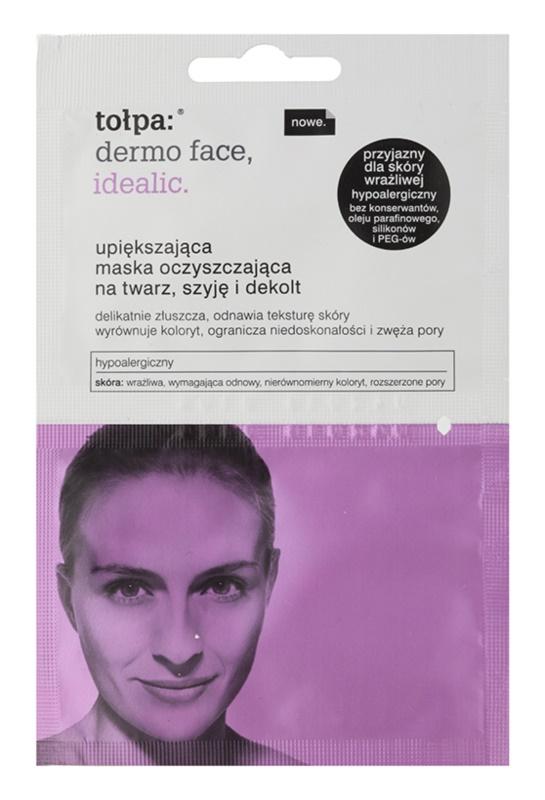 Tołpa Dermo Face Idealic omlazujicí čisticí maska na obličej, krk a dekolt