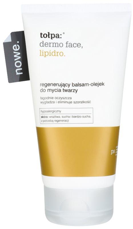 Tołpa Dermo Face Lipidro čisticí olejový balzám s regeneračním účinkem