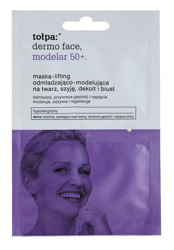 Tołpa Dermo Face Modelar 50+ Straffende Lifting-Maske für Gesicht, Hals und Dekolleté