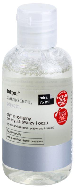 Tołpa Dermo Face Physio micelární čisticí voda na obličej a oči