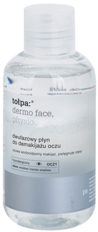 Tołpa Dermo Face Physio Zwei-Komponenten Make up - Entferner für die Augen zum Stärken der Wimpern