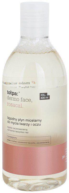 Tołpa Dermo Face Rosacal agua micelar limpiadora para rostro y ojos