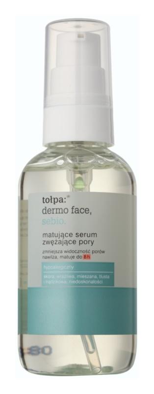 Tołpa Dermo Face Sebio mattierendes Serum zur Verkleinerung erweiterter Poren