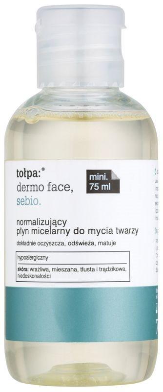 Tołpa Dermo Face Sebio micelární čisticí voda pro pleť s nedokonalostmi