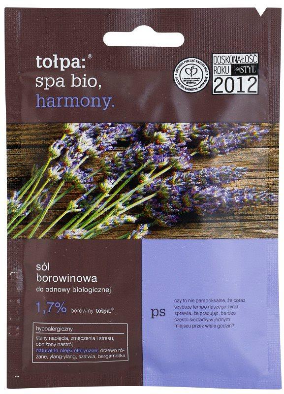 Tołpa Spa Bio Harmony Saruri de baie cu turba cu lavanda