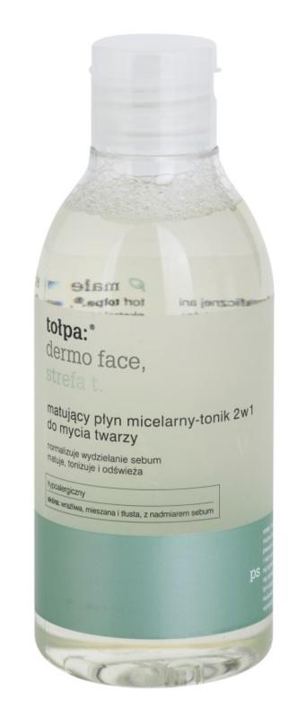 Tołpa Dermo Face T-Zone tónico matificante 2 en 1