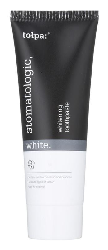 Tołpa Stomatologic White dentífrico com efeito branqueador