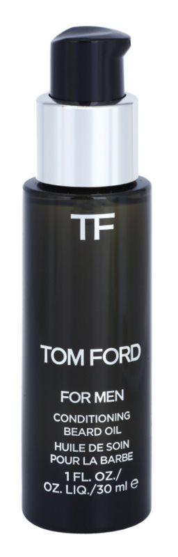 Tom Ford For Men олійка для вусів з ароматом ванілі та табаку