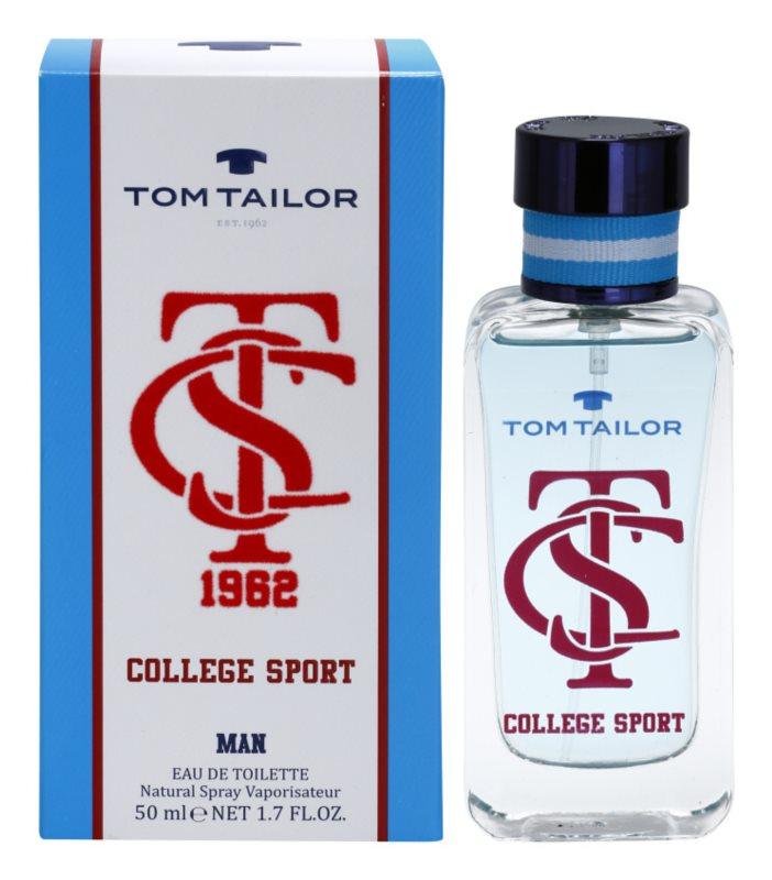 Tom Tailor College sport toaletná voda pre mužov 50 ml