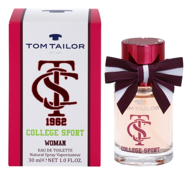 Tom Tailor College sport Eau de Toilette für Damen 30 ml