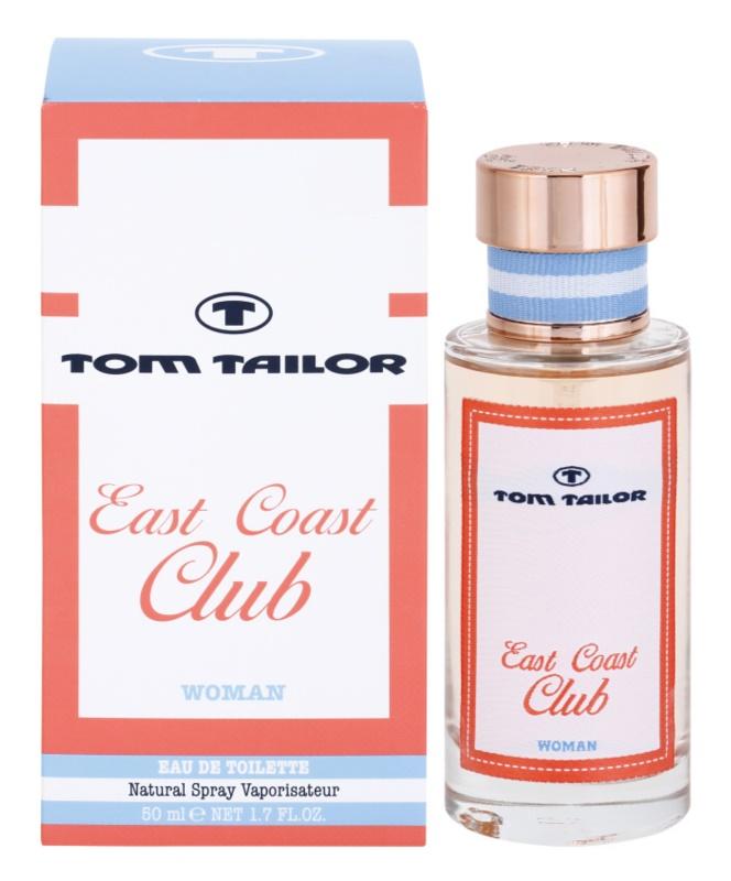 Tom Tailor East Coast Club eau de toilette nőknek 50 ml
