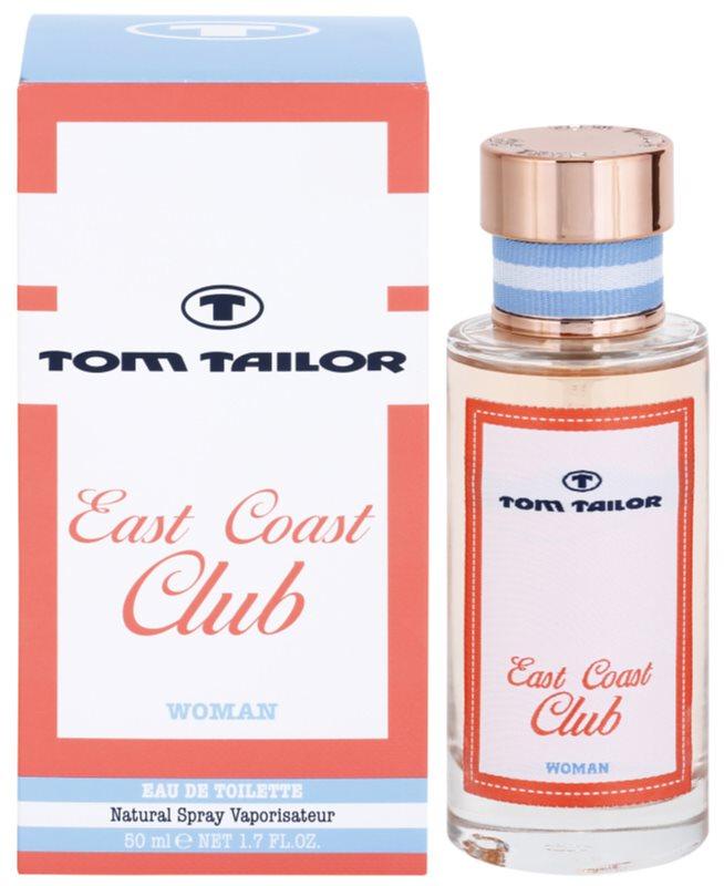 Tom Tailor East Coast Club Eau de Toilette voor Vrouwen  50 ml